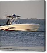 A Proper Fishing Boat Canvas Print