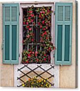 A Provence Window Canvas Print
