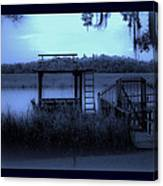 A Quiet Place By The Marsh Canvas Print
