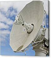 A Radar Dish Aboard Mobile At-sea Canvas Print