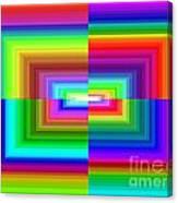 A Rainbow Is A Rainbow Is A Rainbow Canvas Print