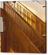 A Residential Building. An Oak Canvas Print