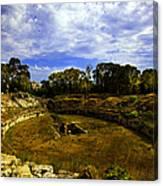 A Ruin In Sicily Canvas Print