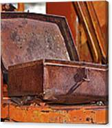 A Rusy Toolbox Canvas Print