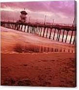 A Scenic Beach Canvas Print