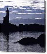 A Scenic Lighthouse Canvas Print