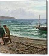 A Sea View Canvas Print