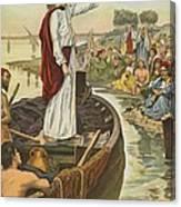 A Sermon  Canvas Print