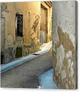 A Sidestreet In Provence Canvas Print