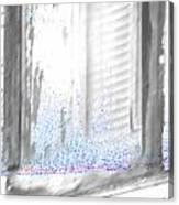 A Simple Window Sketch Canvas Print