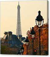 A Slice Of Paris Canvas Print