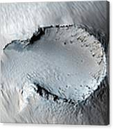 A Small Cone On The Side Of One Of Mars Canvas Print