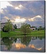 A Special Sunday At Church Canvas Print