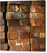 A Stack Of Bricks Canvas Print