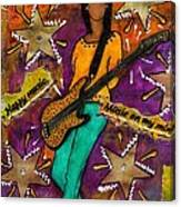 A Student Of The Jam Canvas Print