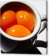 A Triple Eggspresso Canvas Print