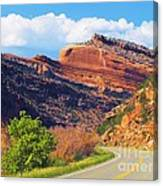 A Turn In The Road Canvas Print