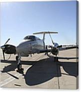A  Uc-12f King Air Aircraft Canvas Print
