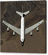 A U.s. Air Force Rc-135 Rivet Joint Canvas Print