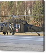 A U.s. Army Uh-60l Blackhawk Canvas Print