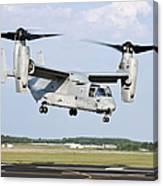 A U.s. Marine Corps Mv-22 Osprey Lifts Canvas Print