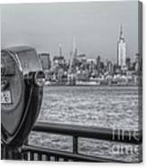 A View From New Jersey II Canvas Print