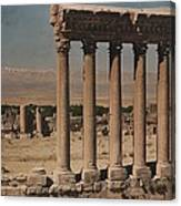 A View Of More Ruins From The Columns Canvas Print