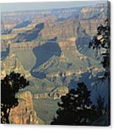 A View Of The Grand Canyon Canvas Print