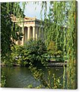 A View Of The Parthenon 1 Canvas Print