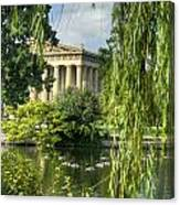 A View Of The Parthenon 16 Canvas Print