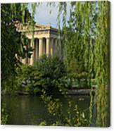 A View Of The Parthenon 3 Canvas Print