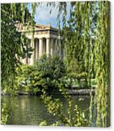 A View Of The Parthenon 5 Canvas Print