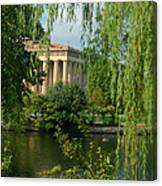 A View Of The Parthenon 8 Canvas Print