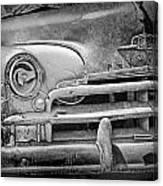 A Vintage Junk Plymouth Auto Canvas Print