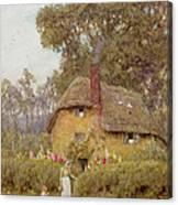 A Wiltshire Garden Canvas Print