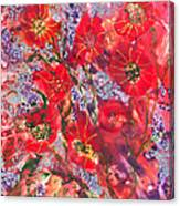 A Winter Healing Garden Canvas Print
