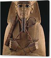 A Wooden Coffin Case Of The Pharaoh Canvas Print