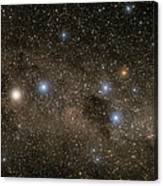 Ab Centauri Stars In The Southern Cross Canvas Print