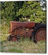 Abandonded Farm Tractor 2 Canvas Print