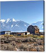 Abandonded Homestead In San Luis Valley Canvas Print