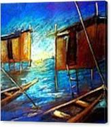 Abandoned At Aleibri Canvas Print