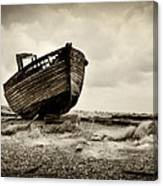 Abandoned At Dungeness Canvas Print