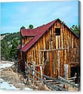Abandoned Barn Ll Canvas Print