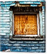 Abandoned Blue Canvas Print