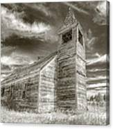 Abandoned Church Flora Oregon Canvas Print