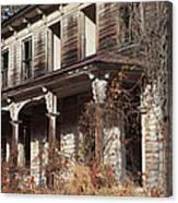 Abandoned Dilapidated Homestead Canvas Print