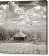 Abandoned Farmhouse Canvas Print