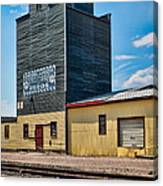 Abandoned Feed Elevator Canvas Print
