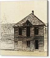 Abandoned Homestead - Okanogan Washington Canvas Print