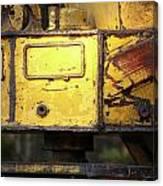 Abandoned Machine Canvas Print